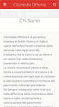 Mobile Preview of cliomediaofficina.it